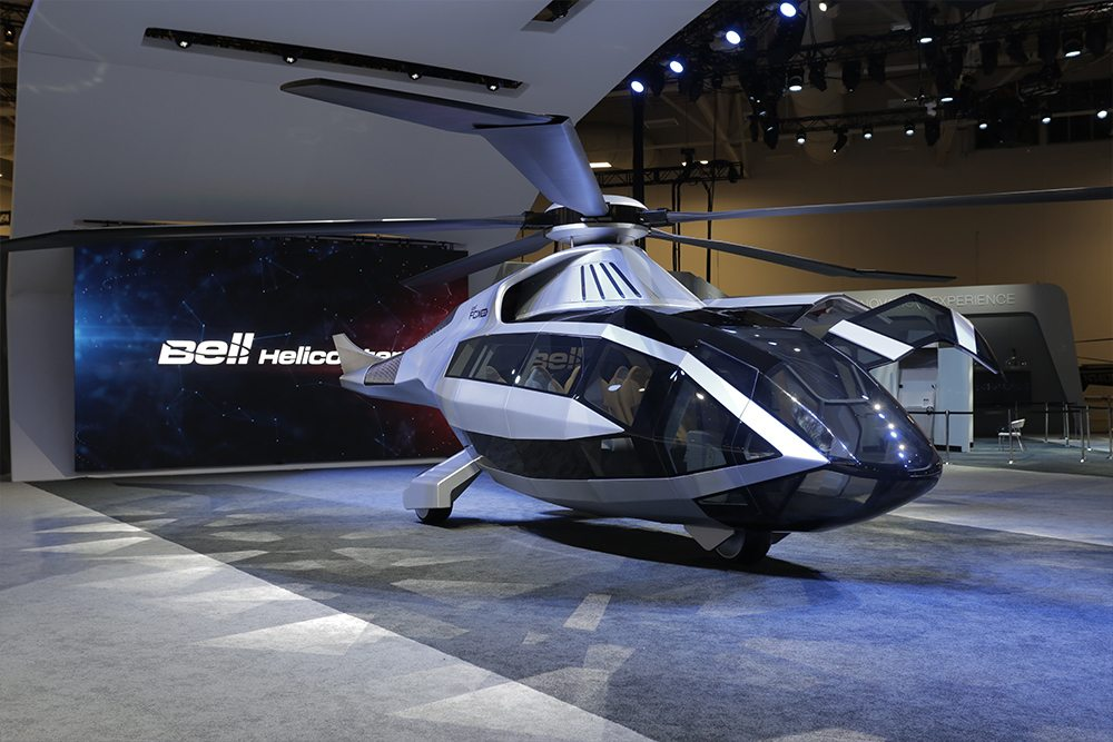 Bell S Future Concept The Fcx 100 Helicopter Oracle Time