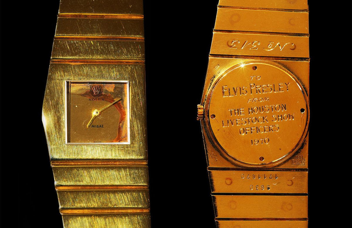 Elvis' limited edition Rolex King Midas