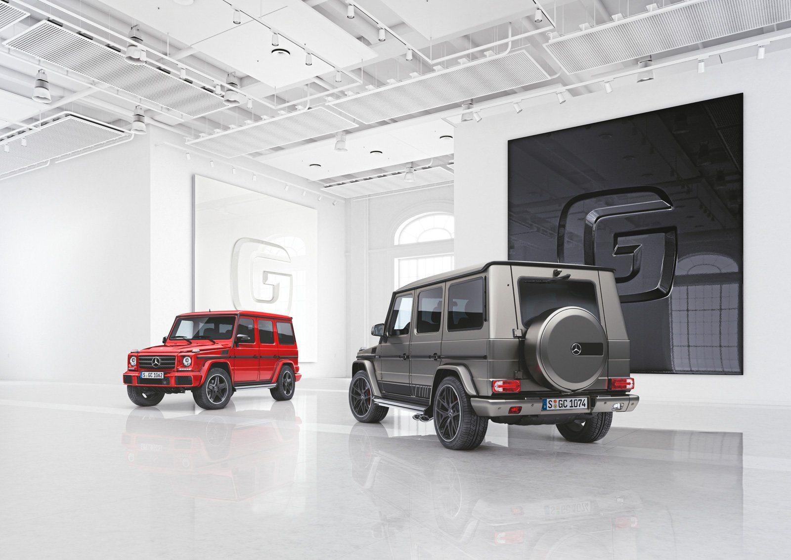 Mercedes Benz Designo Manufaktur and Exclusive Edition