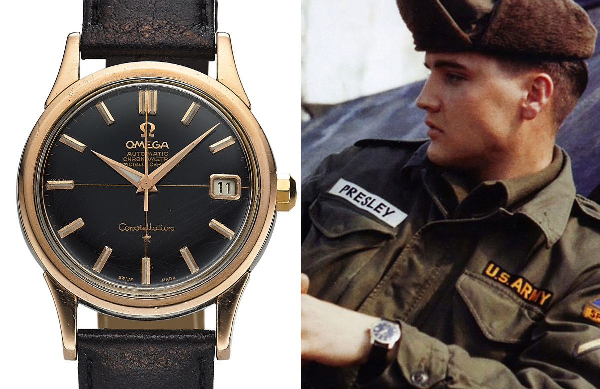 Elvis' Omega Constellation Watch