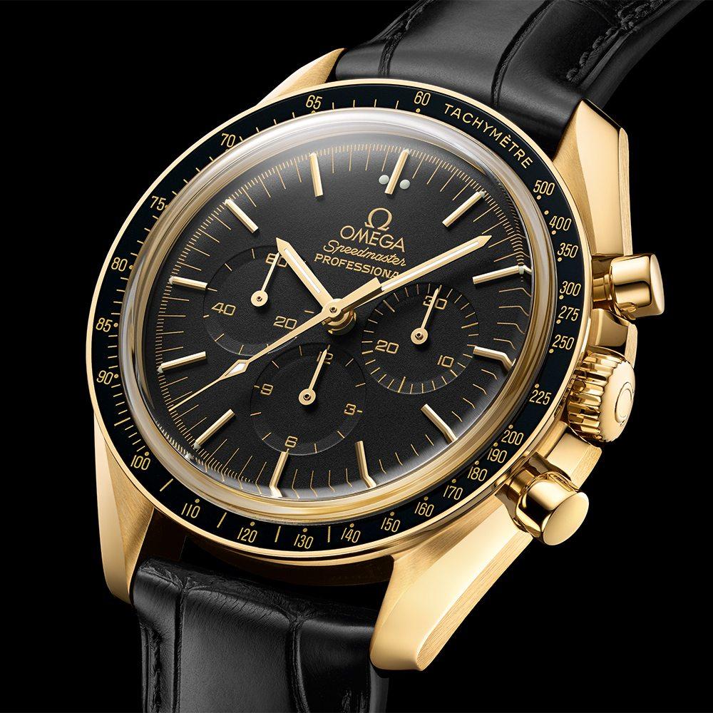 Omega Speedmaster Moonwatch Professional Chronograph Starmus Science Award Gold