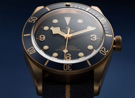 Tudor Black Bay Blue Edition For Bucherer