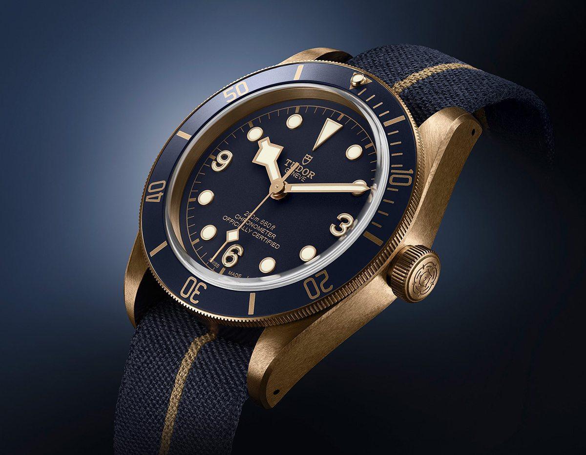 Tudor Black Bay Blue Edition For Bucherer