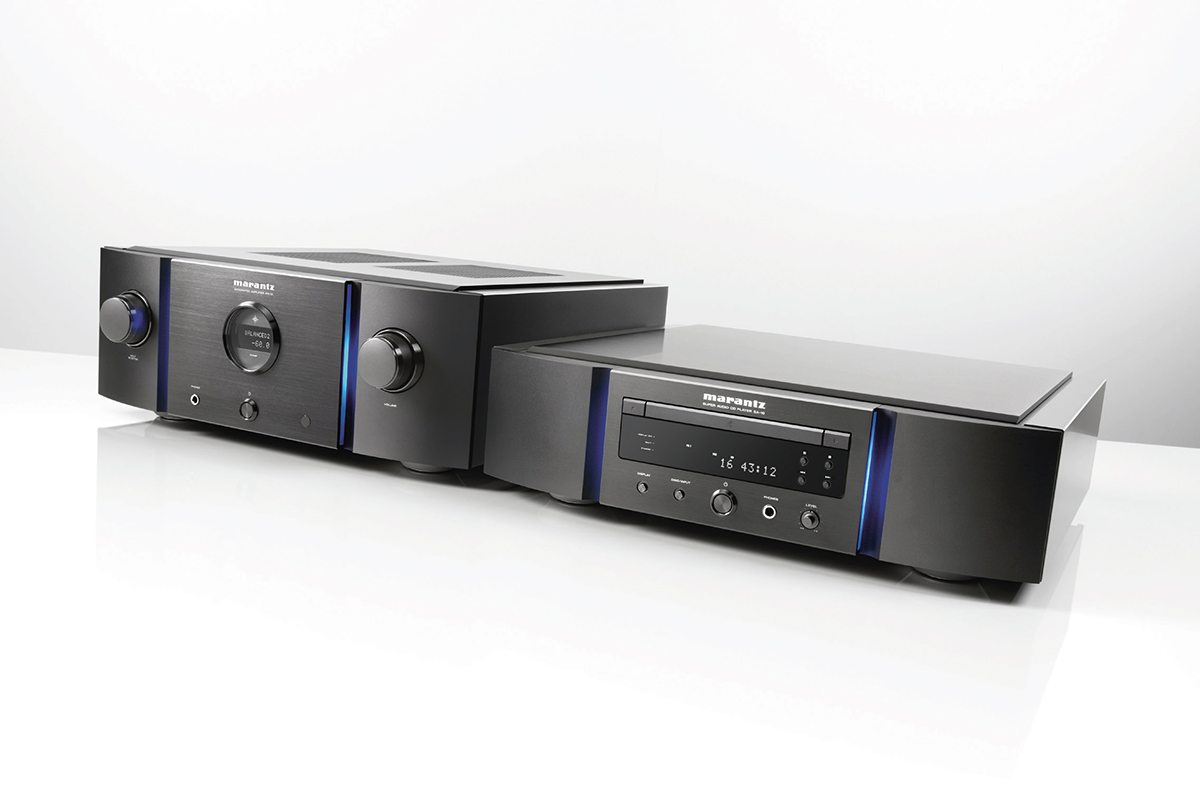 Audible Fidelity Marantz Premium SA-10 Super Audio CD-Player DAC and the Marantz Premium PM-10 Integrated Amplifier