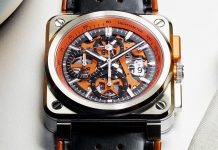 Bell & Ross BR 03 94 Aero GT Orange