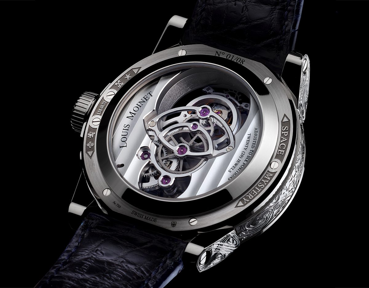 Louis Moinet Space Mystery Back