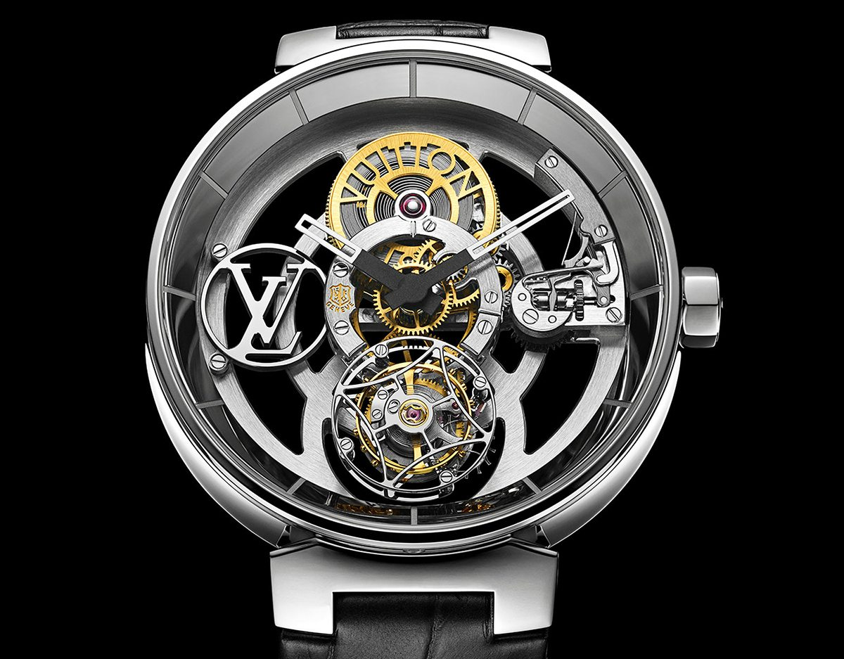 Image result for Tambour Moon Flying Tourbillon Geneva Seal