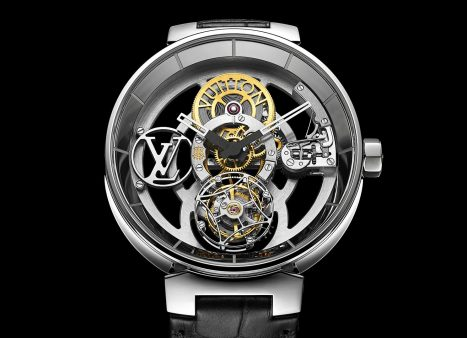 Louis Vuitton Tambour Moon Flying Tourbillon 'Poinçon De Genève'