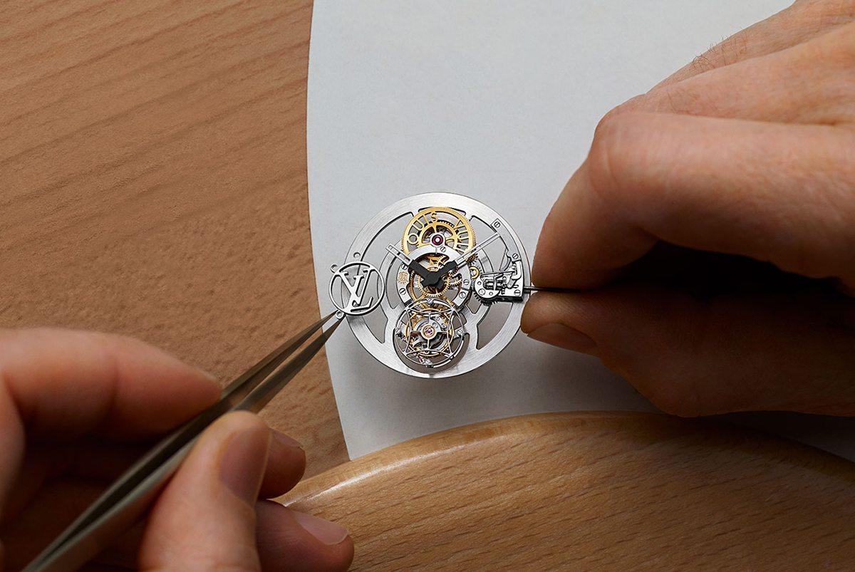 Louis Vuitton Tambour Moon Flying Tourbillon 'Poinçon De Genève'