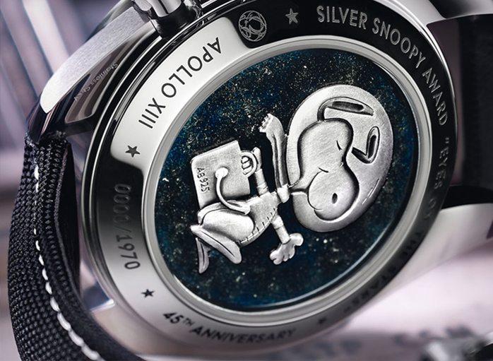 Omega Speedmaster Apollo 13 Silver Snoopy Award Limited Edition
