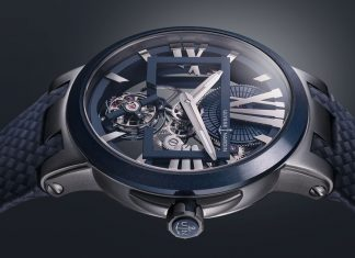 Ulysse Nardin Executive Skeleton Tourbillon Blue