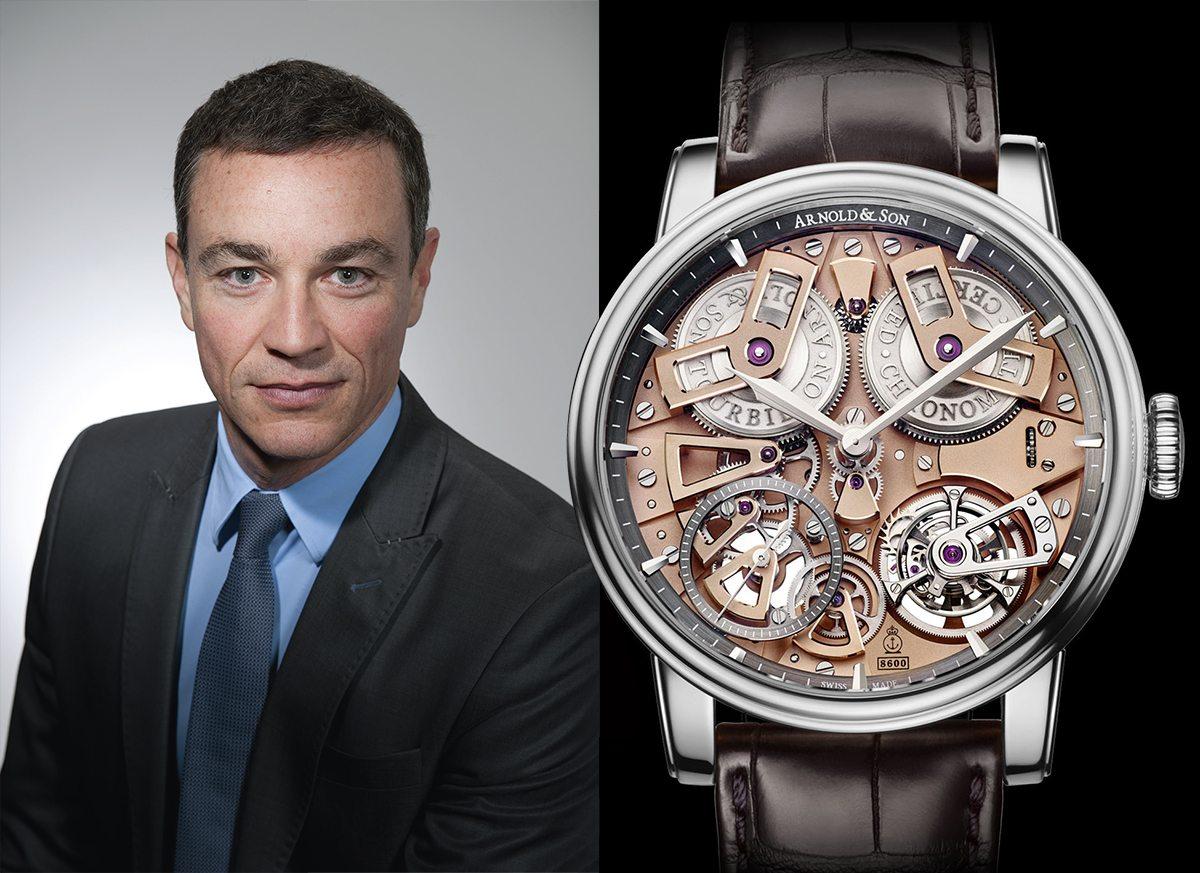 Arnold & Son's Vice-President of Sales Fabien Dutriaux