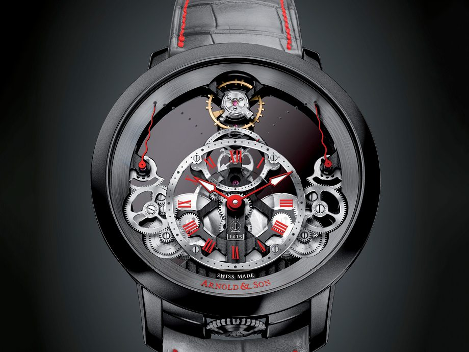 Arnold & Son Time Pyramid Only Watch