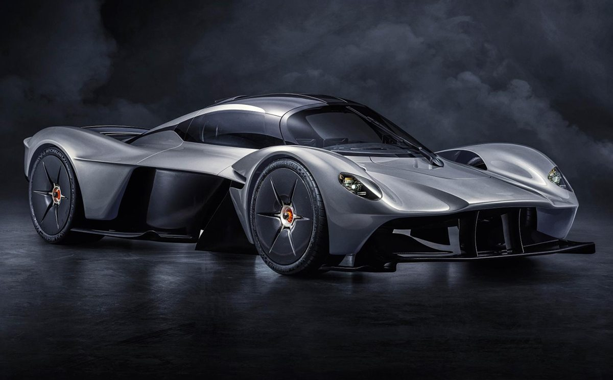 new images of aston martin's f1-inspired valkyrie - oracle time