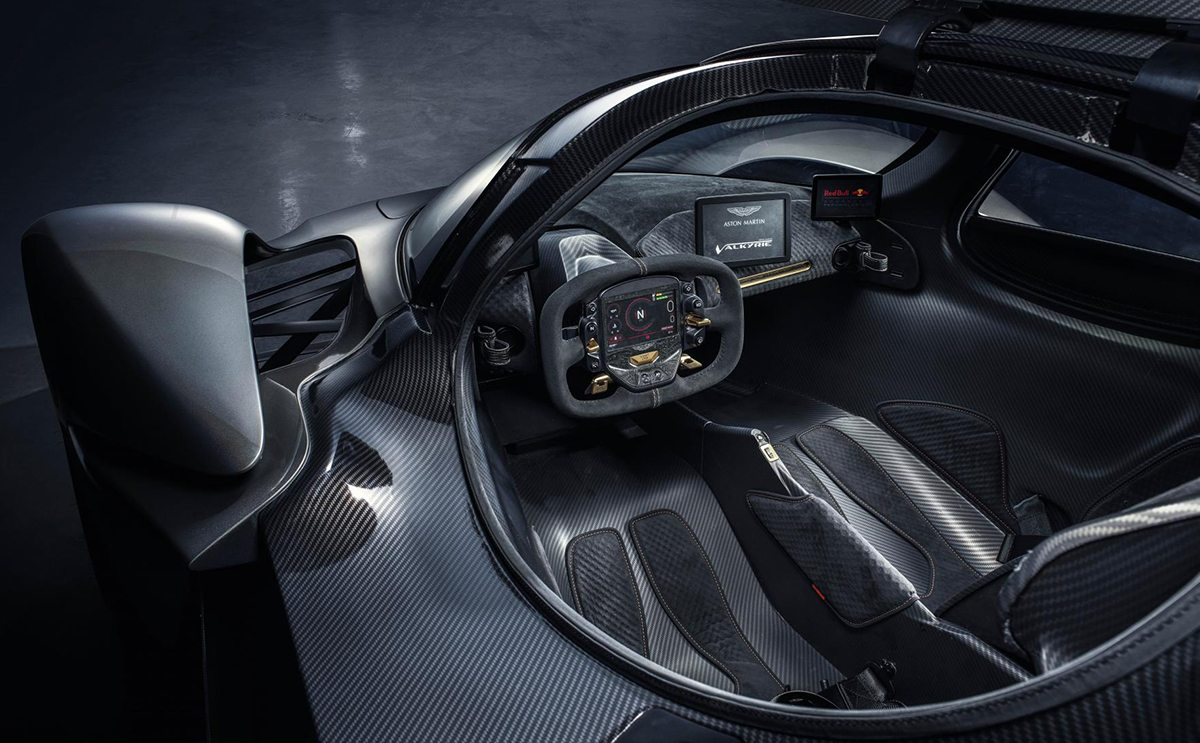 Mclaren F1 Interior >> New Images of Aston Martin's F1-Inspired Valkyrie - Oracle Time