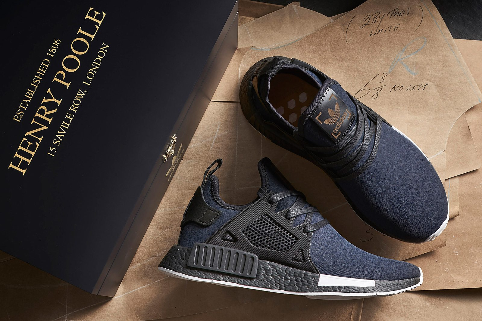 cheap for discount 8e093 ab12c Savile Row Sneakers: Henry Poole x Adidas Originals - Oracle ...