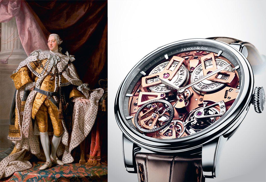 King George III & Arnold & Son Tourbillon Chronometer No. 36