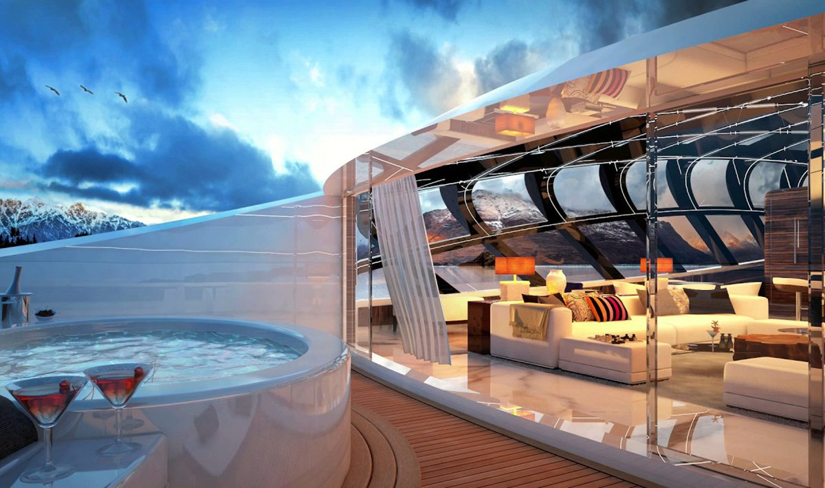 Project Cosmo Superyacht