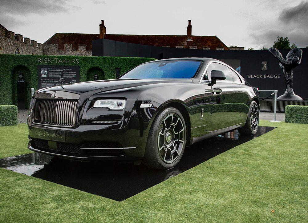 Rolls Royce Black Badge Dawn