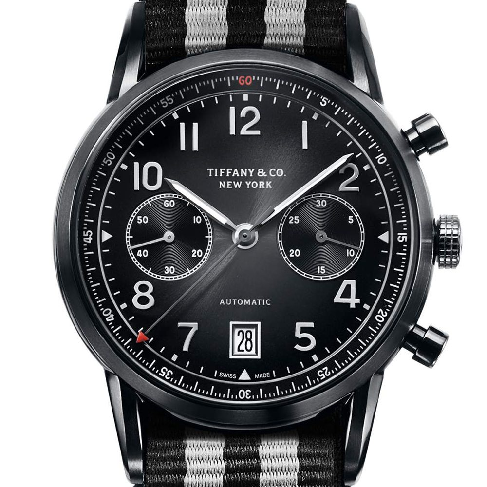 Tiffany & Co. CT60 Black DLC Chronograph