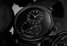 Jaquet Droz Grande Seconde Ceramic Clous de Paris