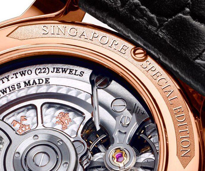 Louis Moinet Singapore Edition