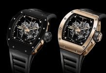 Richard Mille RM 035 Black Toro and Gold Toro