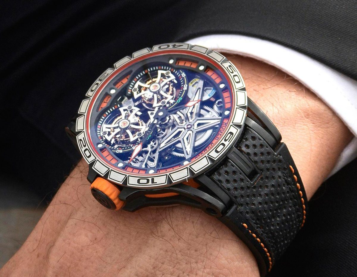Roger Dubuis Excalibur Double Flying Tourbillon