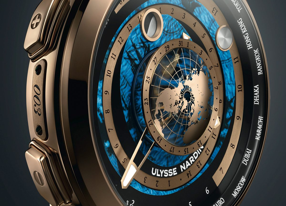 Ulysse Nardin Executive Moonstruck Worldtimer