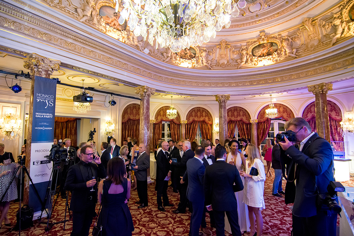Monaco Yacht Show Inaugural Gala Party