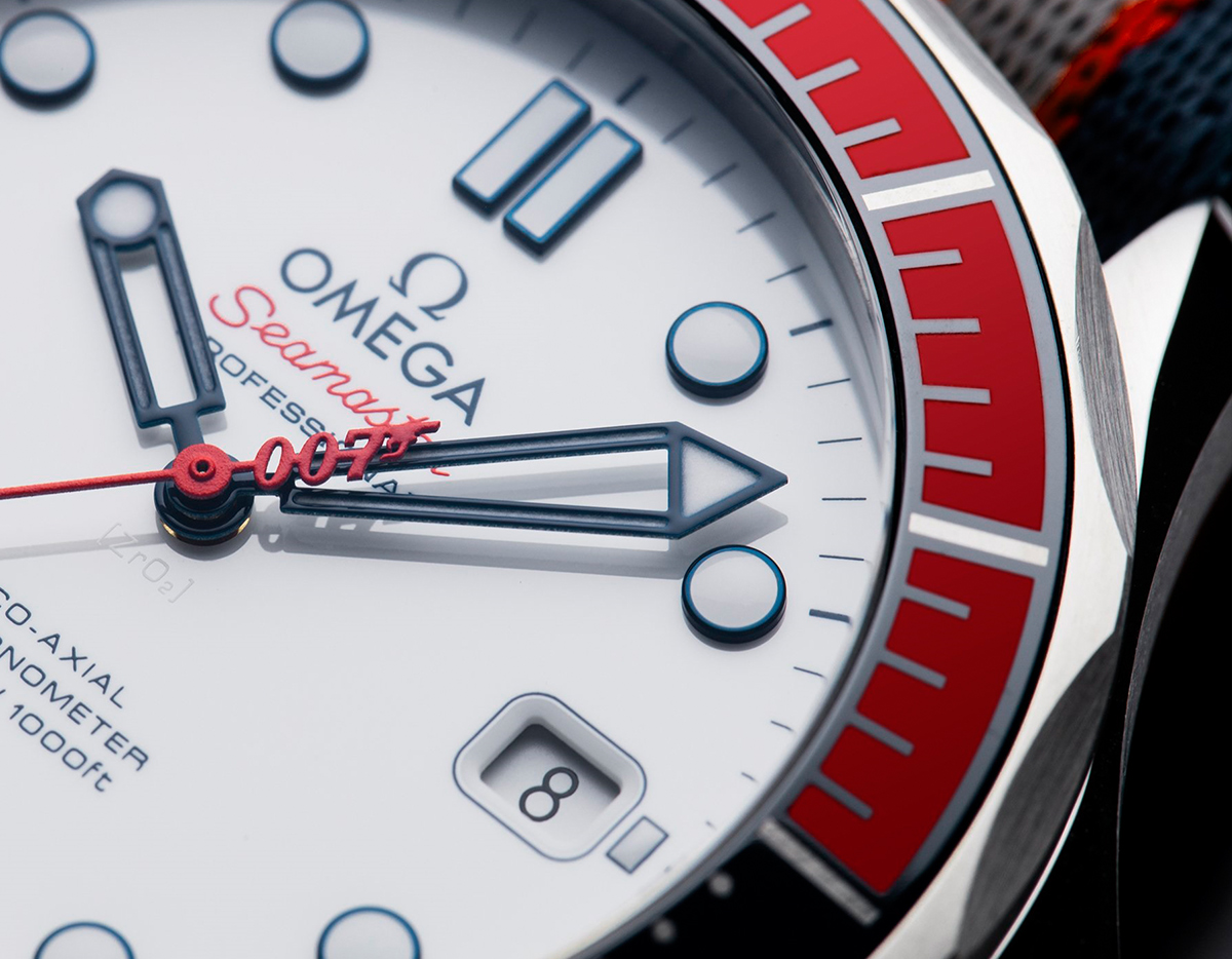 Omega Seamaster Diver 300m Commander's Watch