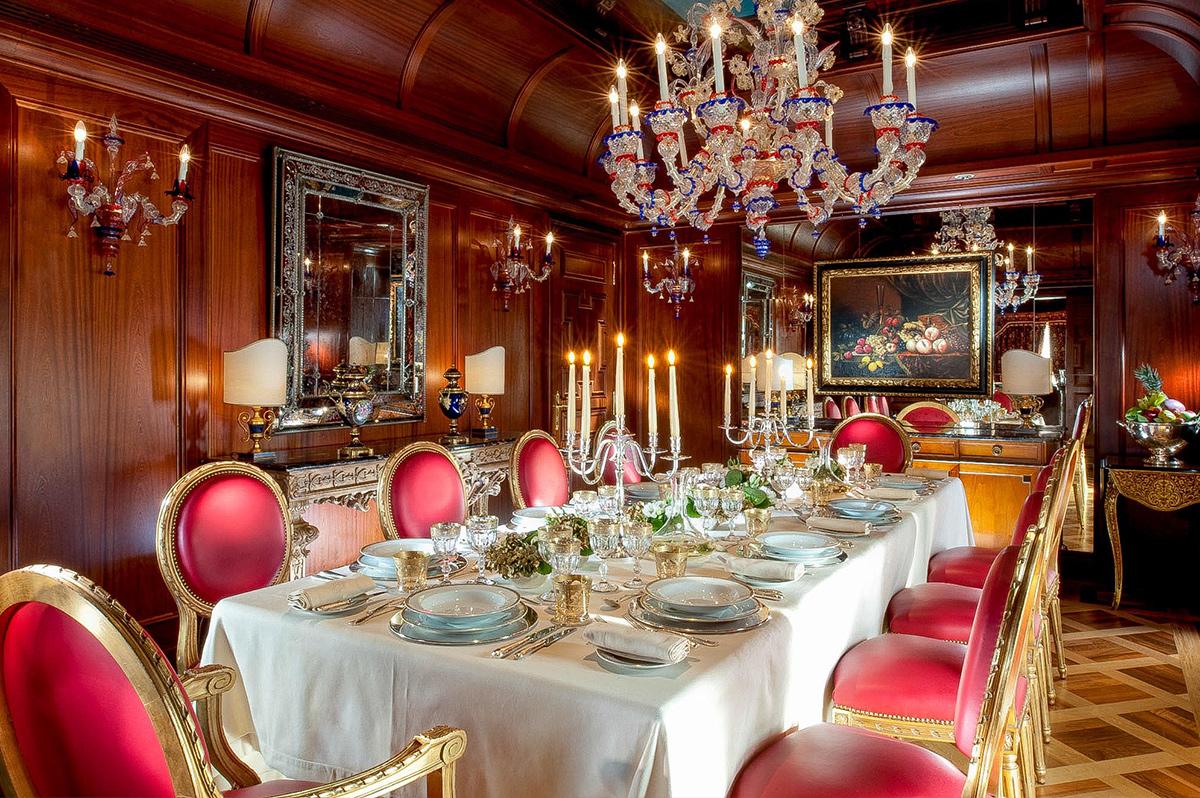 Presidential Suite at Principe di Savoia