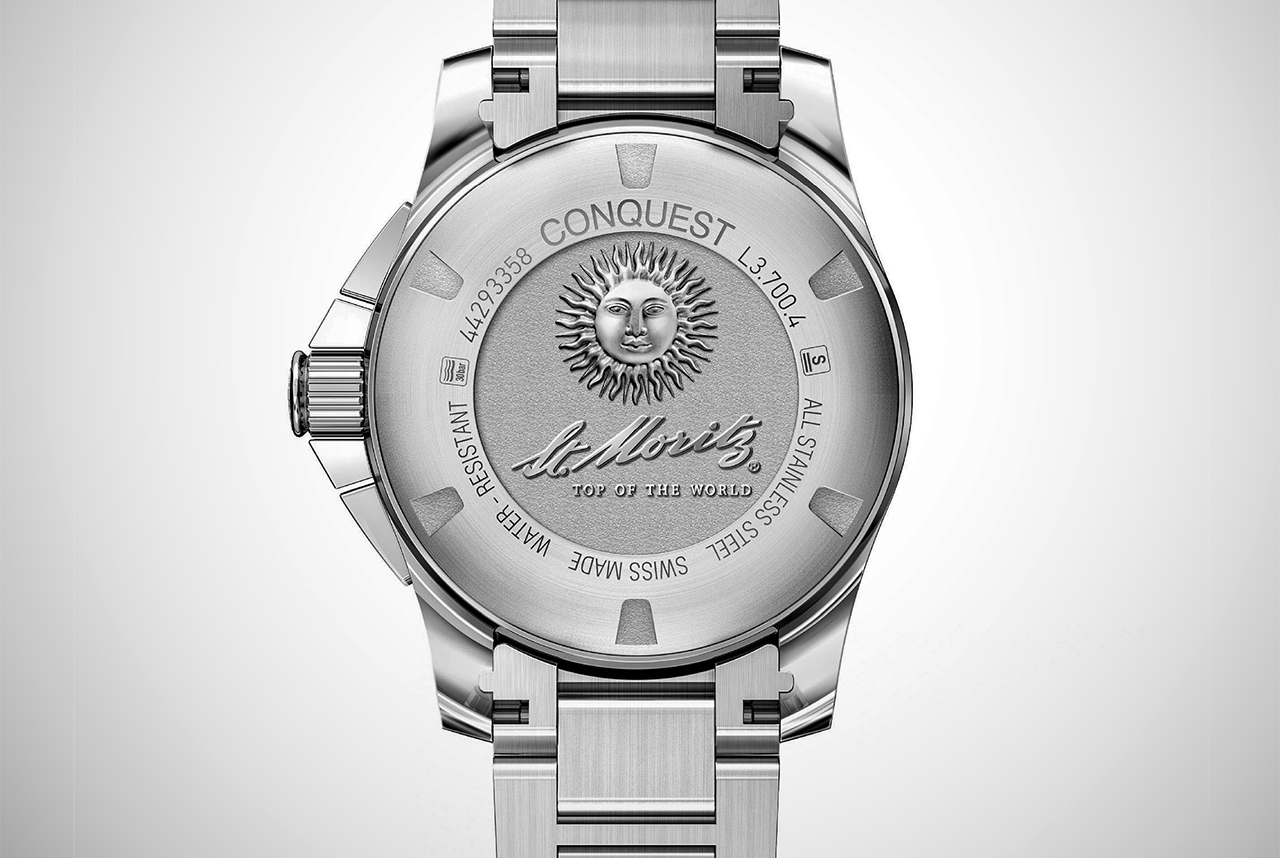 Longines Conquest 1/100th St Moritz