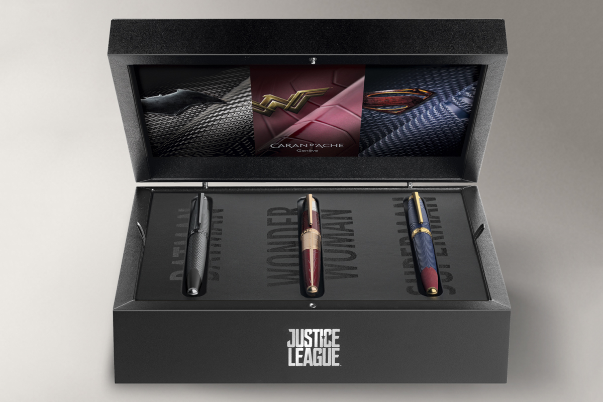 Caran d'Ache Justice League Collection