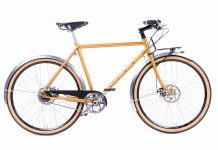 Sven Cycles Roadster Model Gold