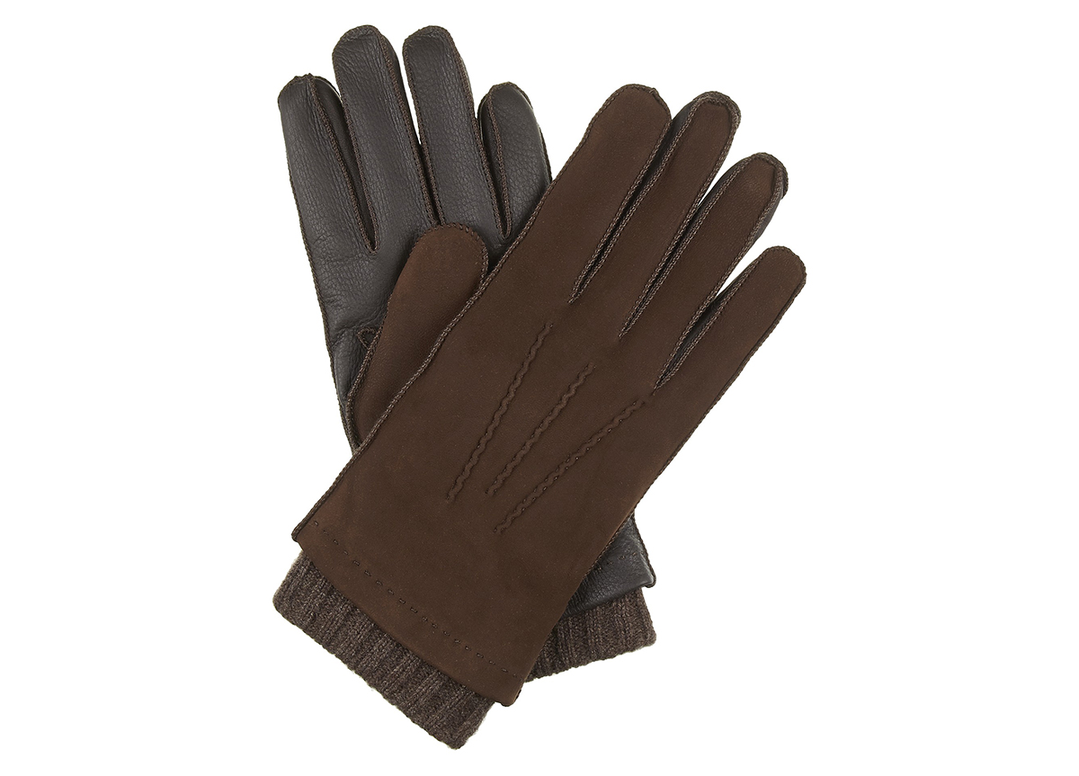 William & Son Suede Gloves