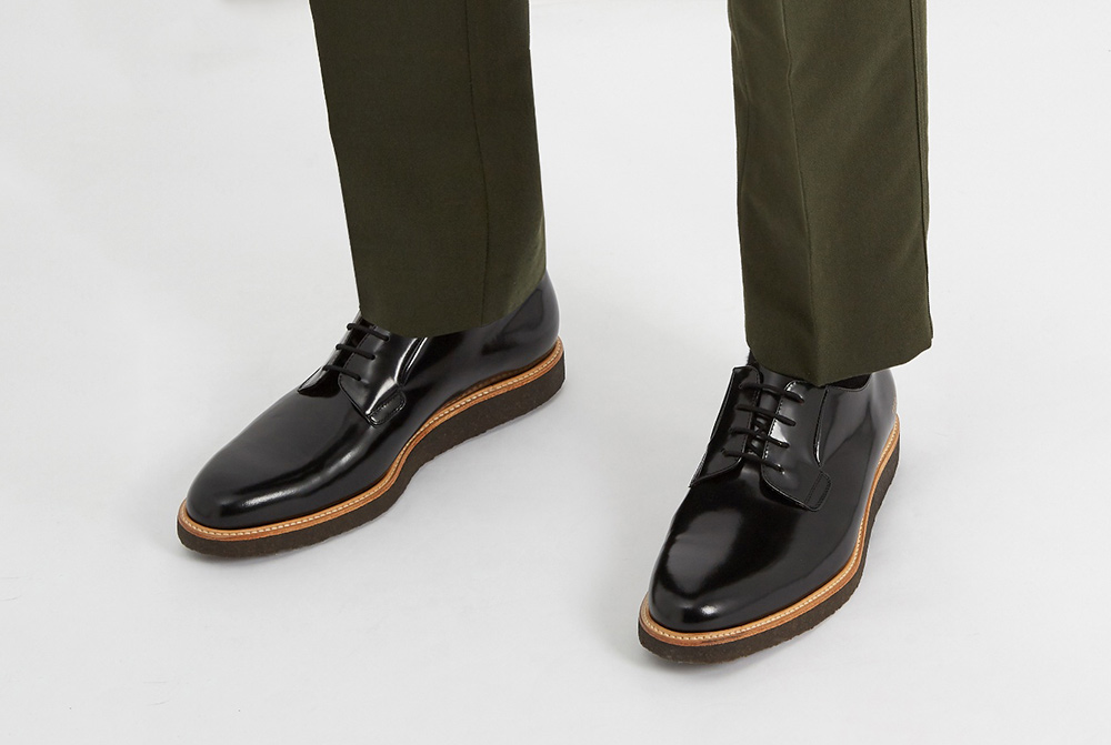 Common Projects Raised-Sole Derbys