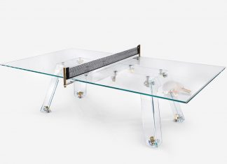 Imatia Lungolinea Ultra-Premium Gold Edition Ping Pong Table