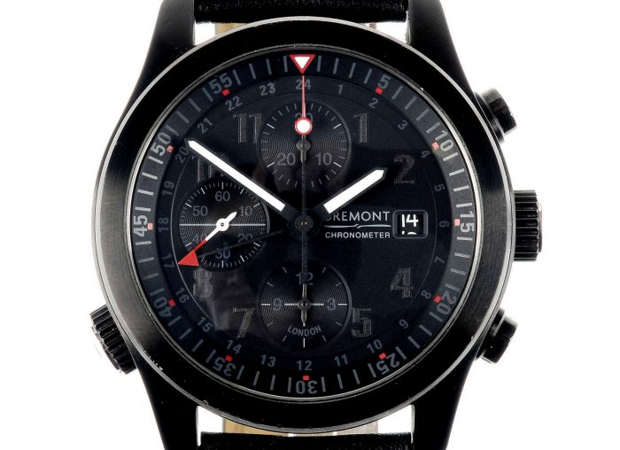 Bremont PVD-treated Stainless Steel GMT Chronograph