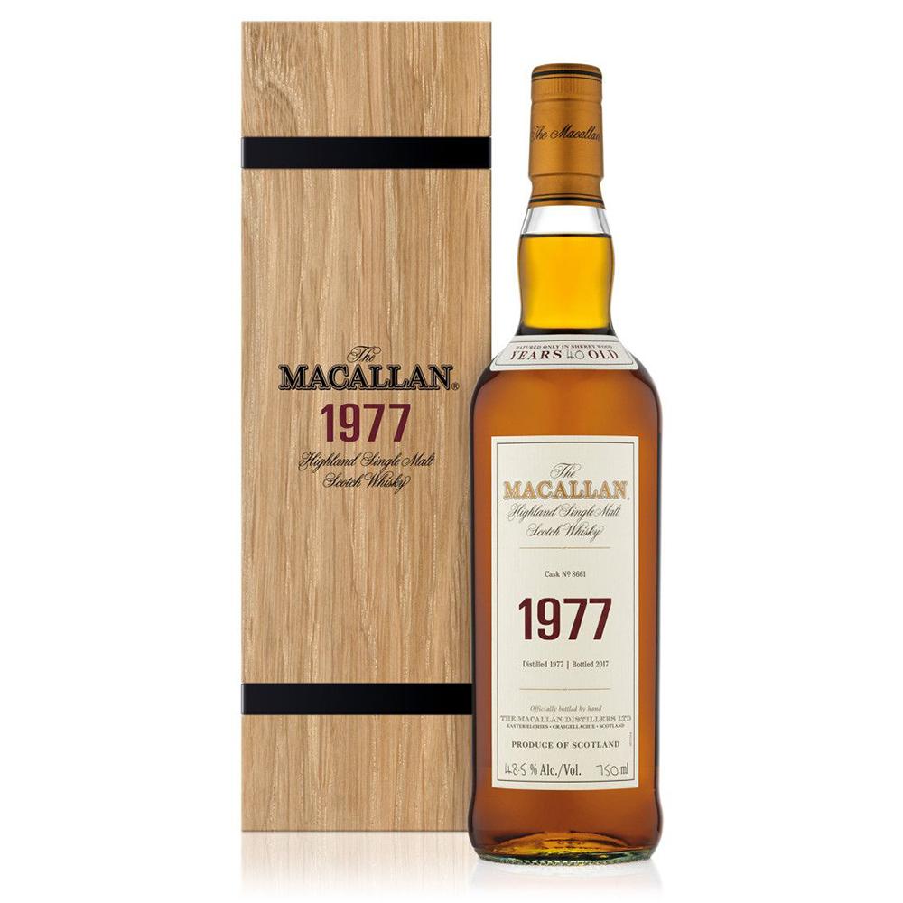 Macallan 1977 Fine & Rare Whisky