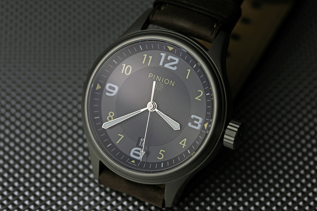 watches limited black pinion company revival steel watch edition