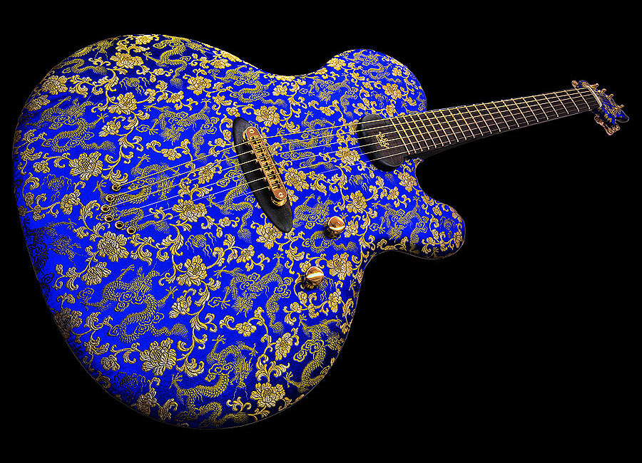 Ritter Princess Isabella The Blue Dragon Guitar