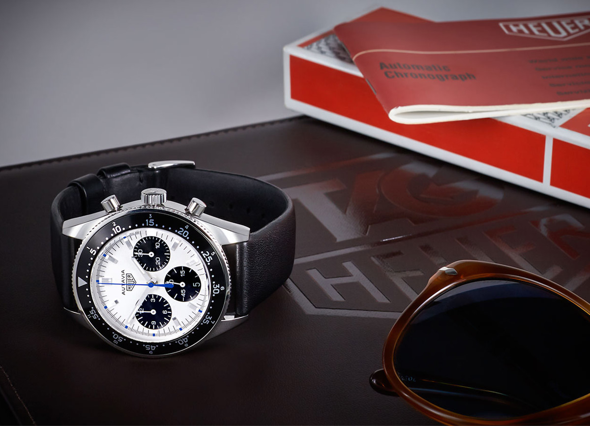 TAG Heuer Autavia Jo Siffert Collector's Edition By Caliber 11