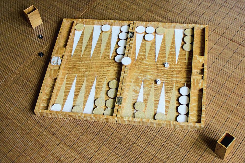 iWOODESIGN Backgammon Set