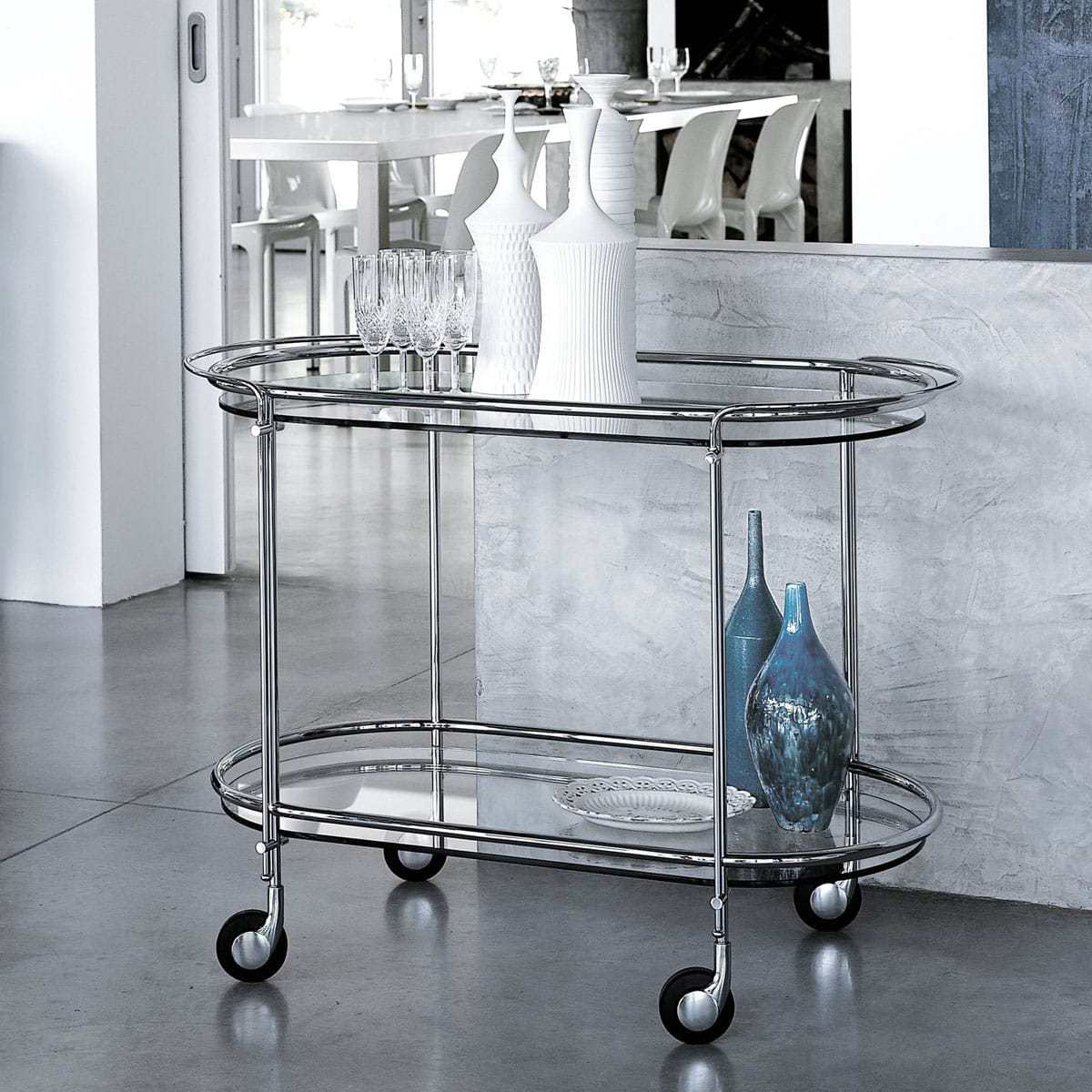 Gallotti & Radice Riki Drinks Trolley