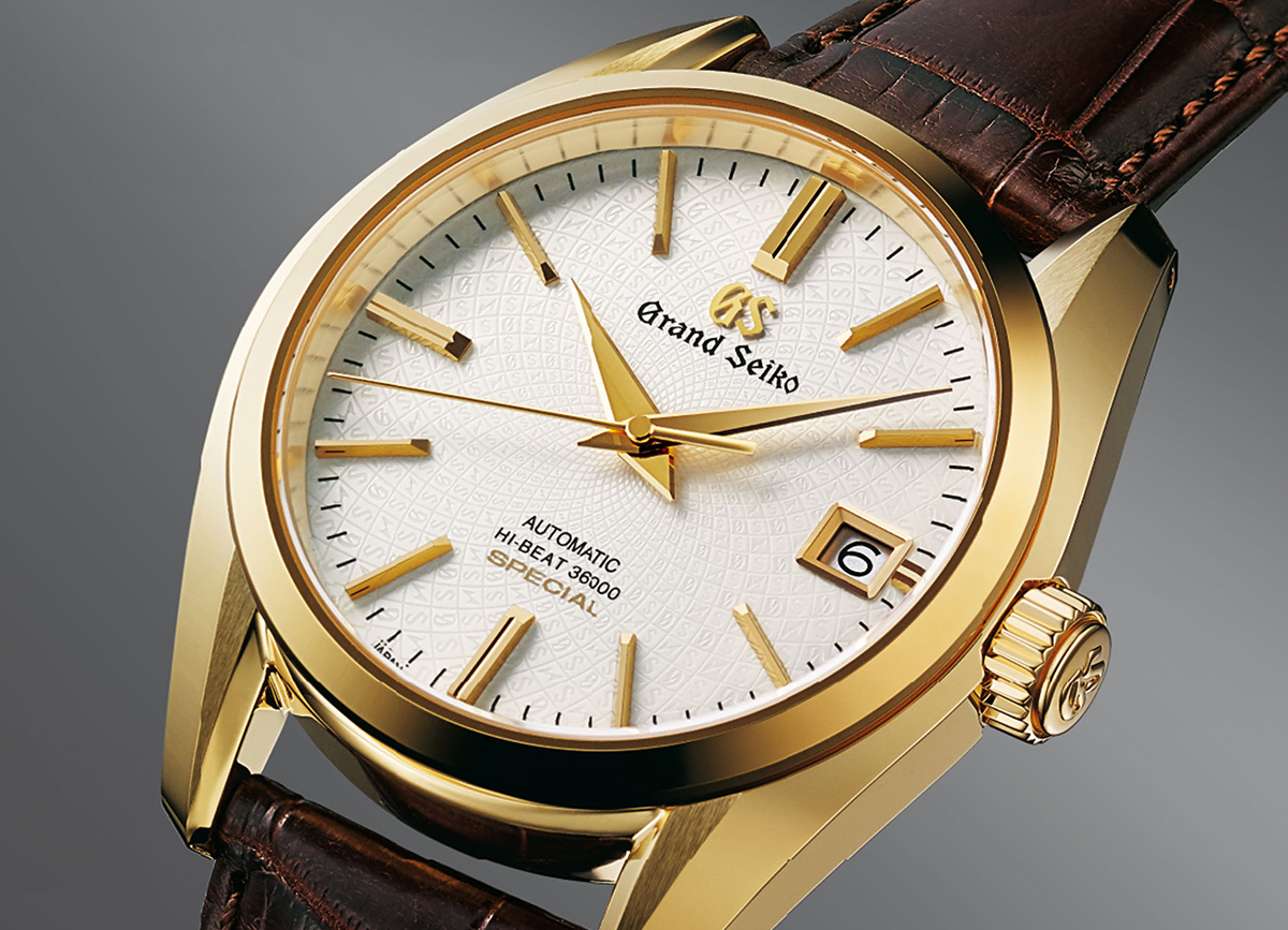 Grand Seiko Special in 18k Gold