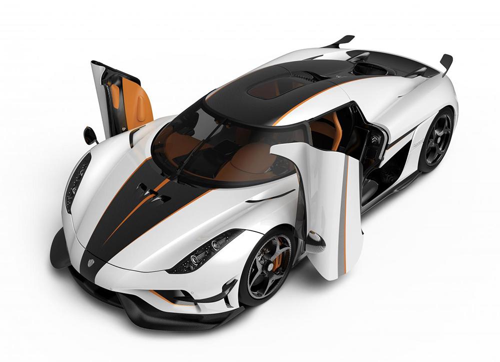 Koenigsegg Regera Ghost
