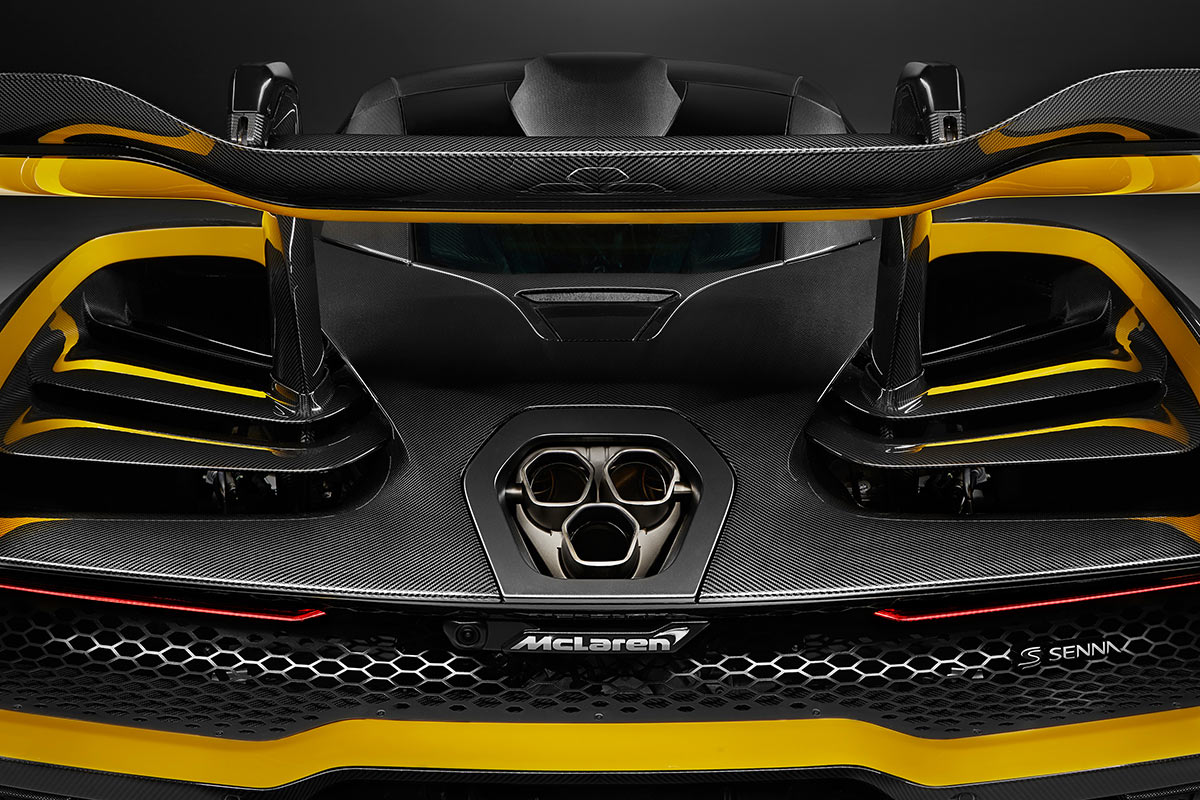 McLaren Senna MSO