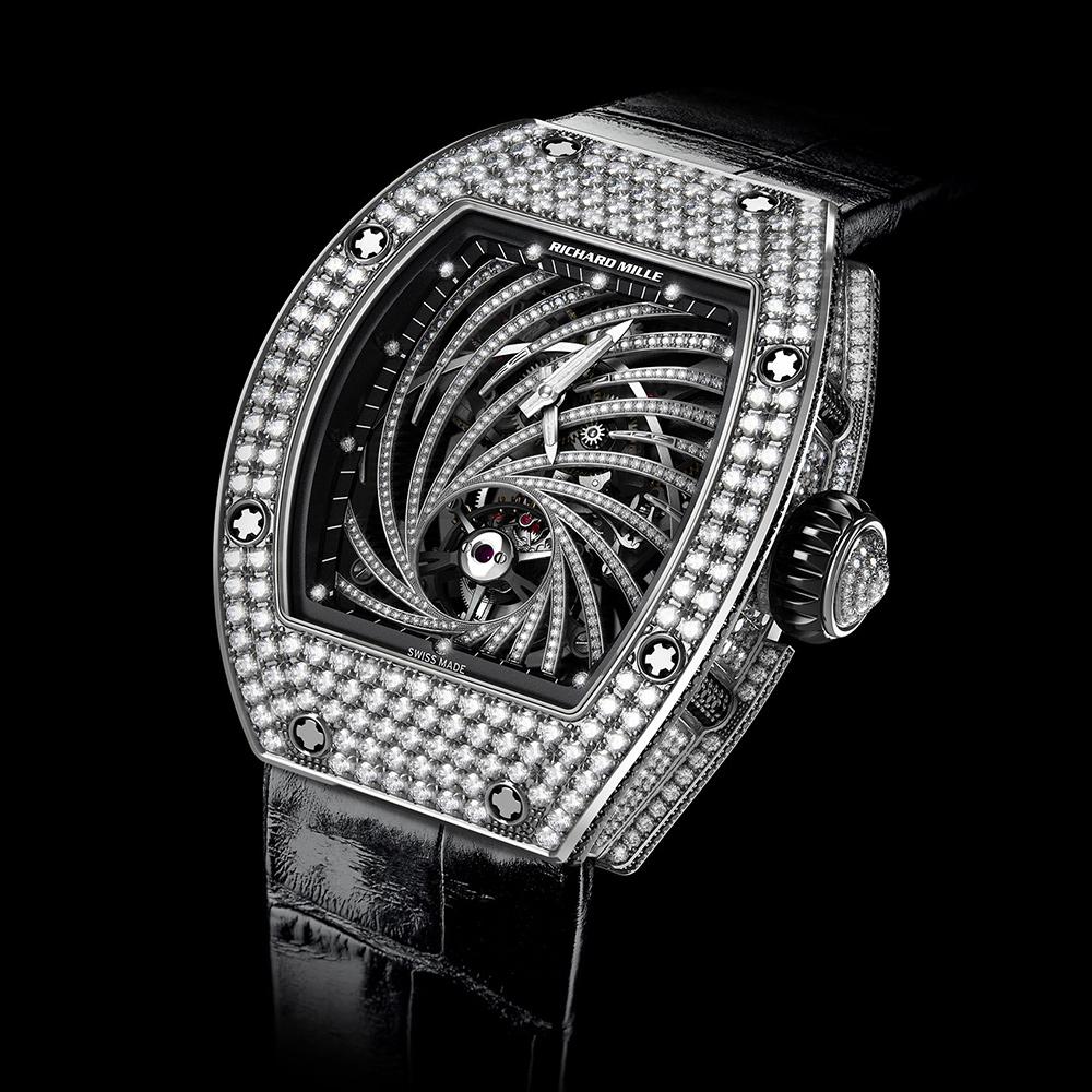 Richard Mille Tourbillon Diamond Twister