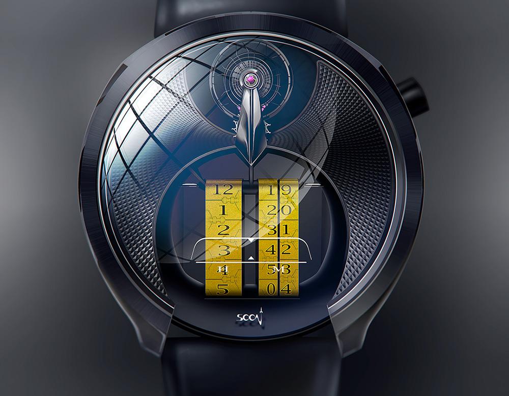 Soon Timepiece Phenomena Anachrone yellow